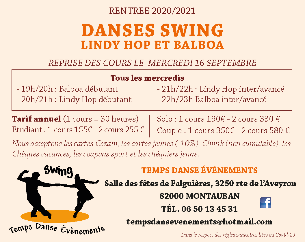 danses et swing
