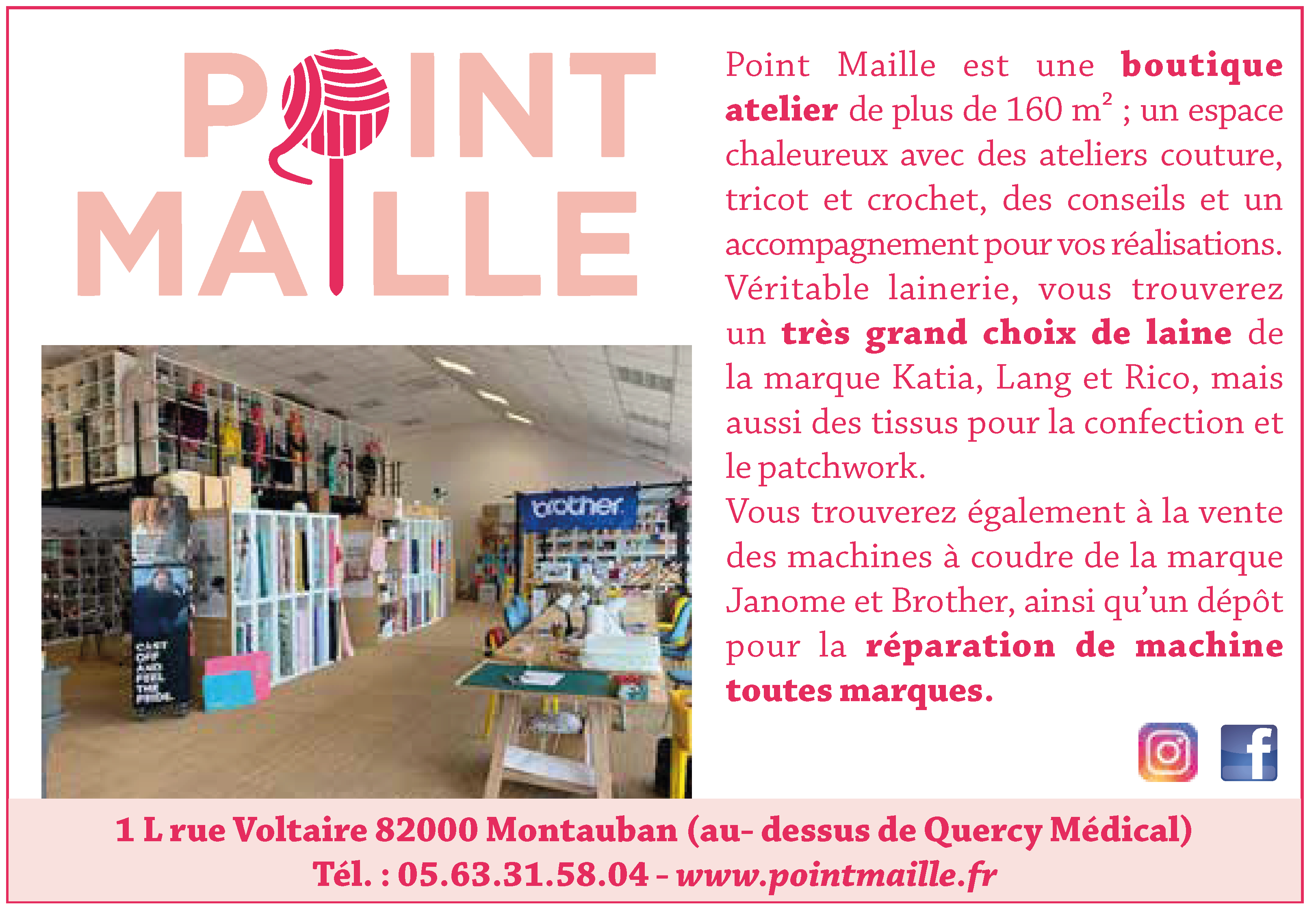 point maille
